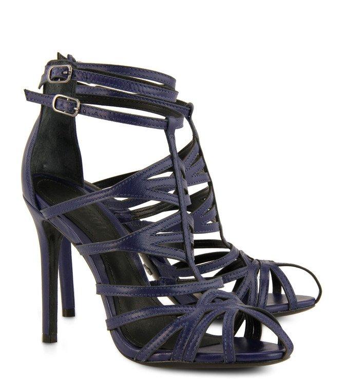 Sandália Tiras Azul