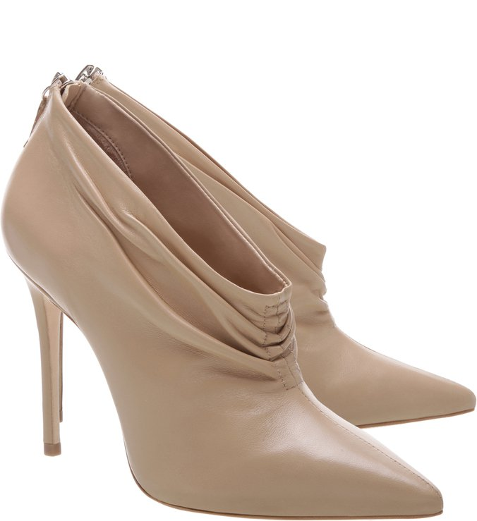 Ankle Boot Leather Nude