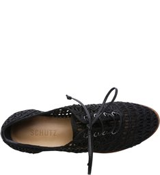 Oxford Flatform String Black
