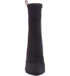 Bota Salto Fino Side Strap Black