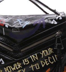 Handbag Suri Grafite Street Black