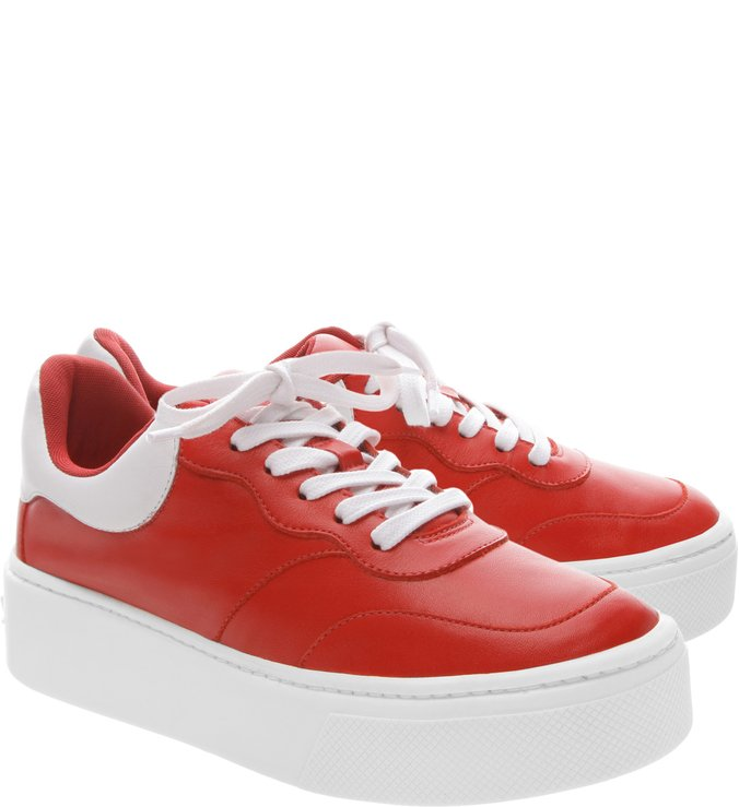Sneaker Low Plataforma Red