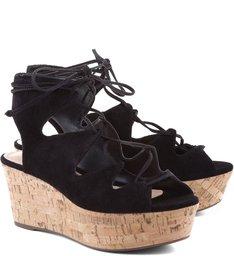 Flatform Cortiça Black