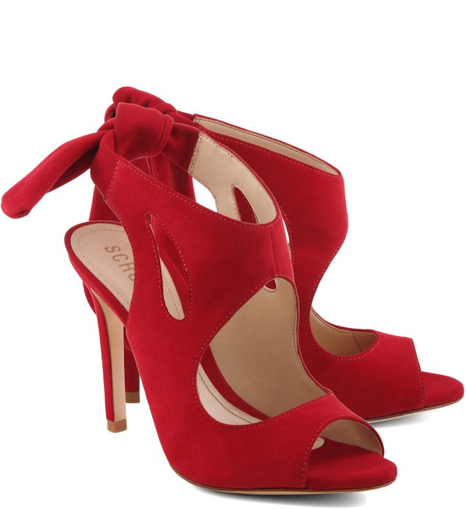 Ankle Boot Com Cut Out Camurça Red