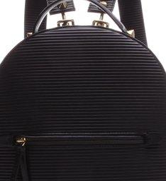 Mochila Texture Minimal Couro Black