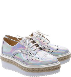 Oxford Flatform Shine Cristal