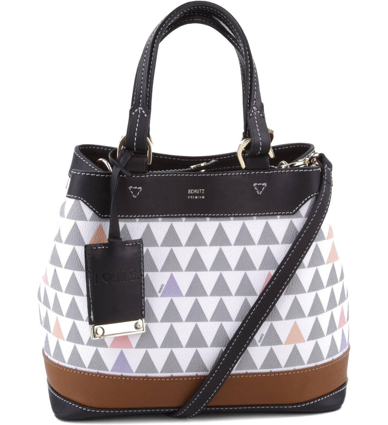 090f76acc Mini Emma Triangle Pearl - Personalização Bag Charm | Schutz