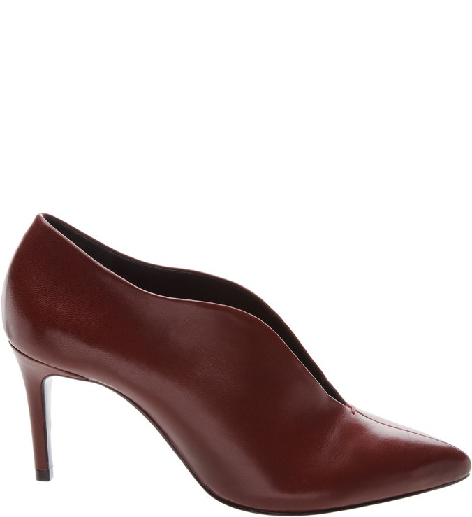 Ankle Boot Curve Brown