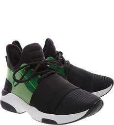 Sneaker Stretch Curves Black & Green