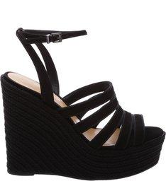 Sandália Cordas Black