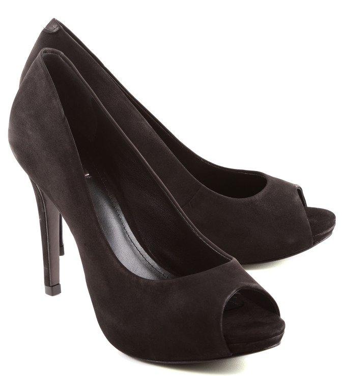 Peep Toe Basic Black