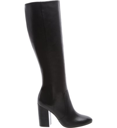Bota Cano Longo High Heels Black