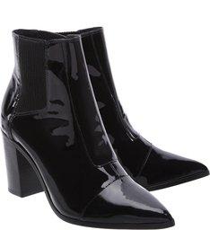 Bota Bico Fino Black