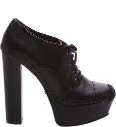 Ankle Boot Plataforma Black