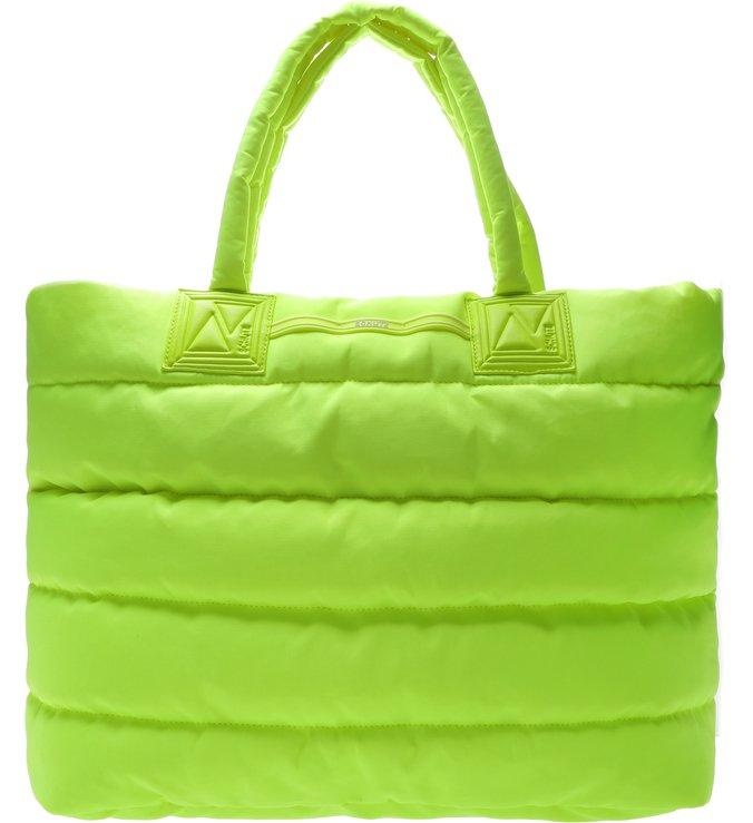 Maxi Shopping Fluffy Neon Yellow