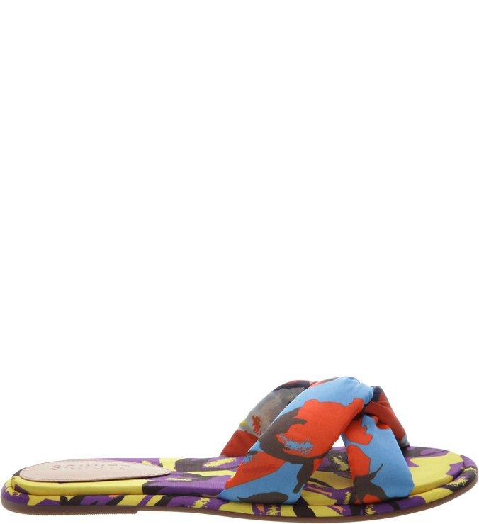 Flat Slide Multicolor Print