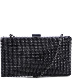 Clutch Strass Cristal Black