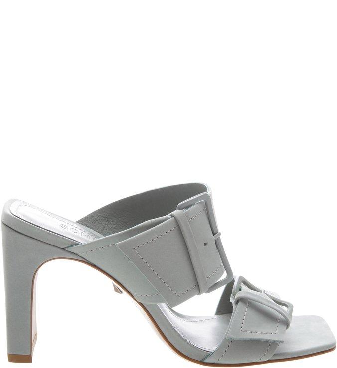 Sandália Mule Super Buckle Mint | Schutz
