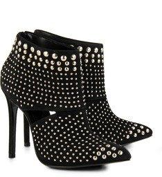 Ankle Boot Golden Age Preta Tachas