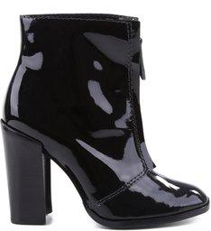 Verniz Ziper Boots Black