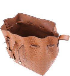 Mini Bucket Emily Triangle Ginger - Personalização Bag Charm