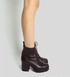 Combat Boot Tratorada Brown