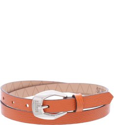 Thin Belt Bright Orange