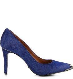 Scarpin Pelo Azul