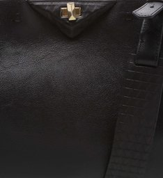 Mini Tote Slouchy Black