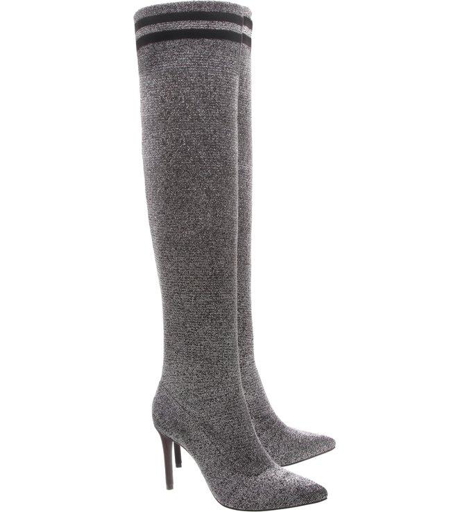 Sock Boot Alta Silver