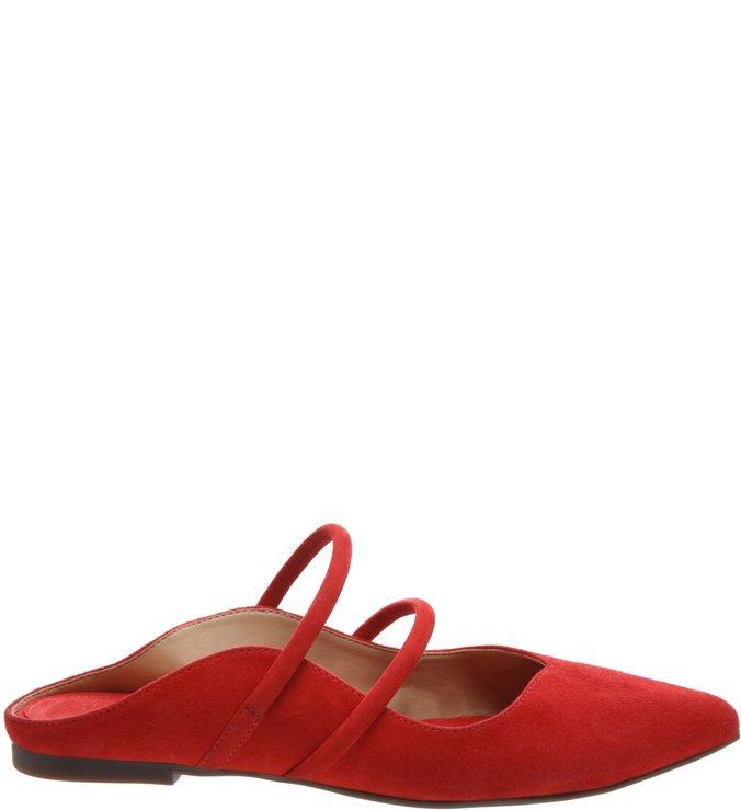 Flat Bico Fino Classic S-Girlie Red   Schutz