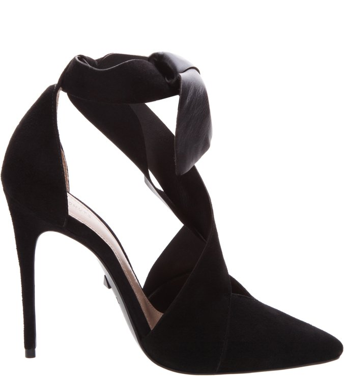 Sandália Statement Bow Black