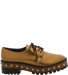 Oxford Thick Sole Studs New Bronze