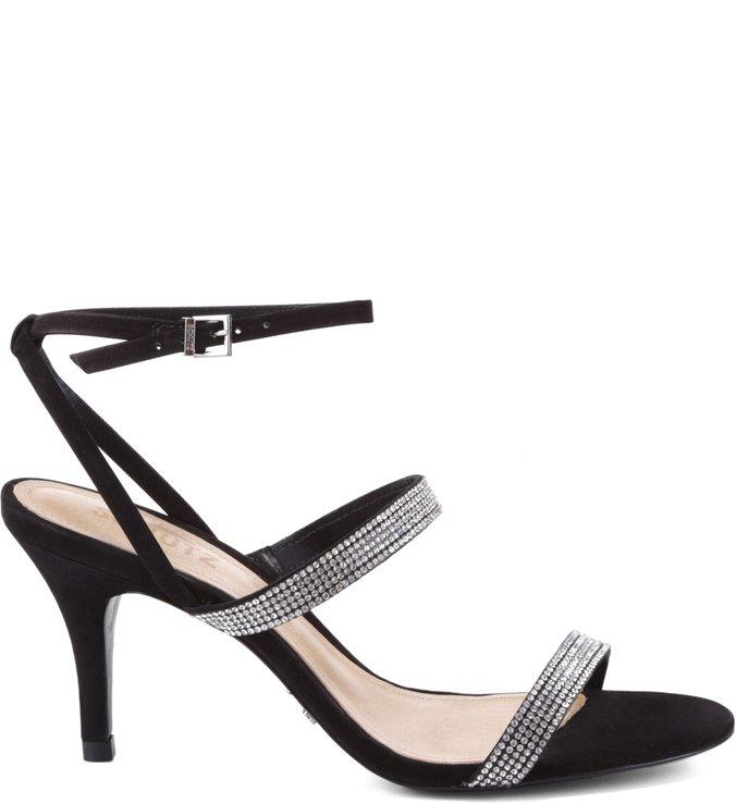 Sandália Três Tiras Black