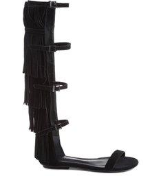 Gladiadora Fringes Black