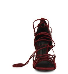 Sandália Amarração Vermelho