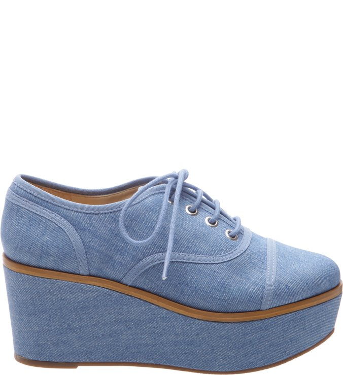 Oxford Flatform Summer Jeans