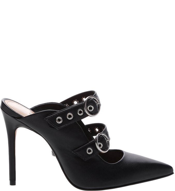 New Quereda Mule High Changeable Black | Schutz