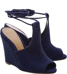 Sandália Wedge Dress Blue
