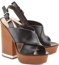 Sandália Simple Shape  Black