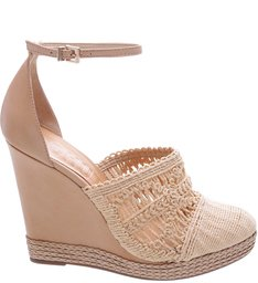 Espadrille Embroidery Natural