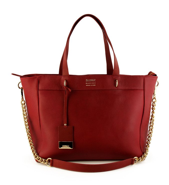 Bolsa Shopping Stella Teaberry