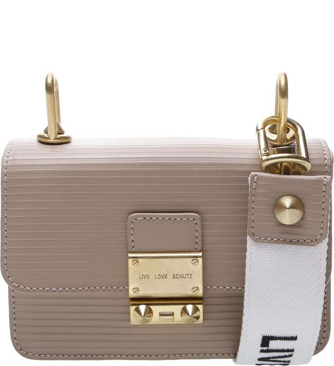 Mini Crossbody Live Love Neutral