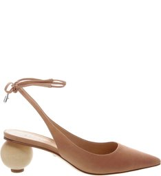 Scarpin Slingback Statement Heel  Honey