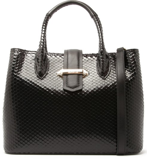 Tote Classic Deluxe Bight Snake Black