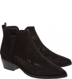 New Chelsea Boot Camurça Black