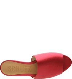 Slide Flat Satin Pink
