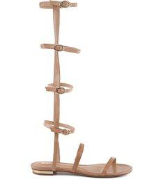 Sandália Rasteira Gladiadora Wood