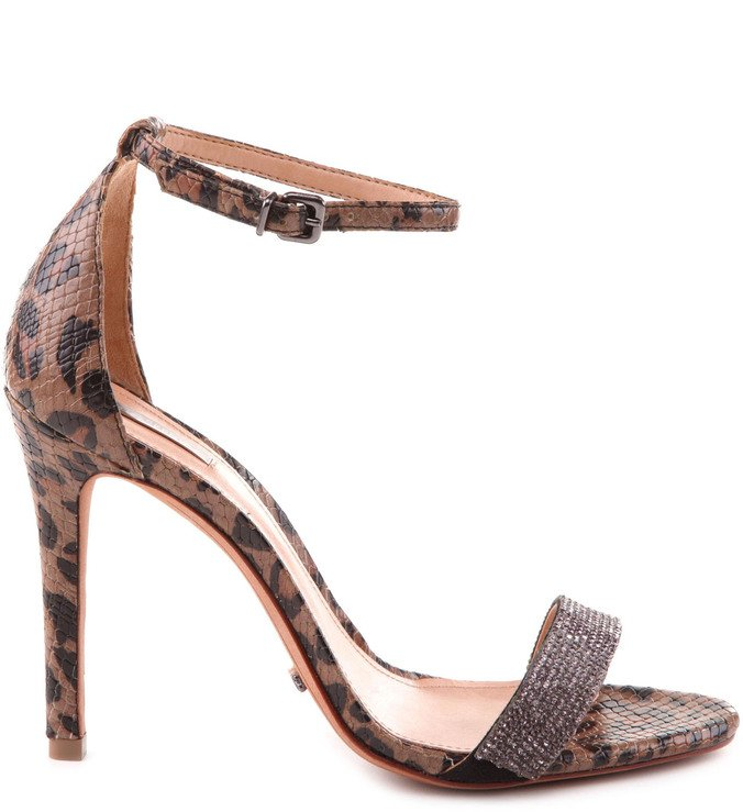 Sandália Bright Strap Animal Print