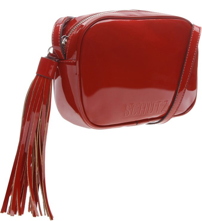 Crossbody Kate Verniz Red